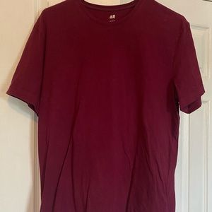 Solid short sleeve T